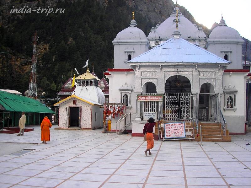 Ганготри. Храм богини Ганги