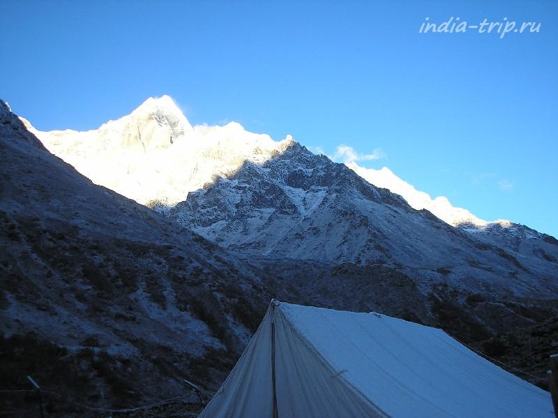 Рассвет в Гималаях