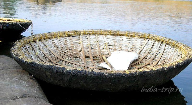 Круглая лодка