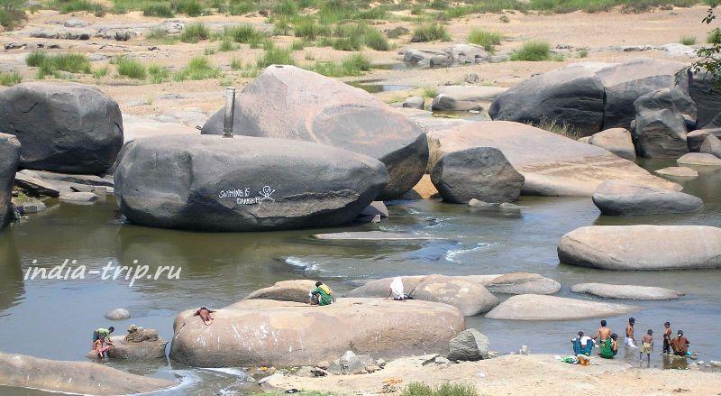 На реке Тунгабхадре