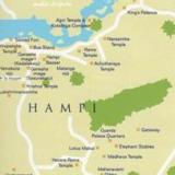 Карта Хампи