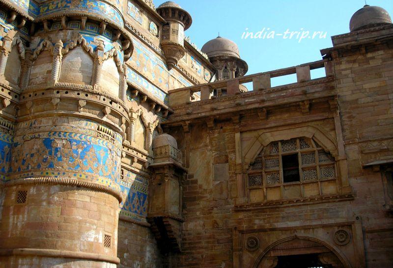 Деталь гвалиорского дворца