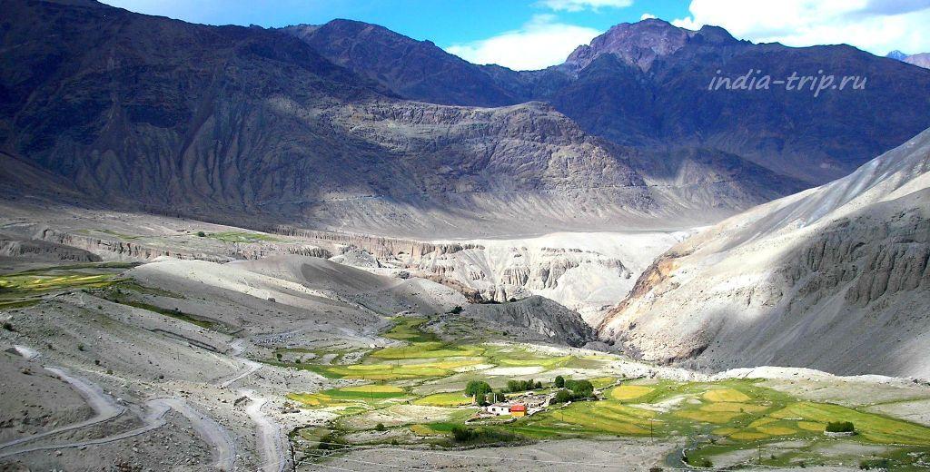 Селение в Гималаях