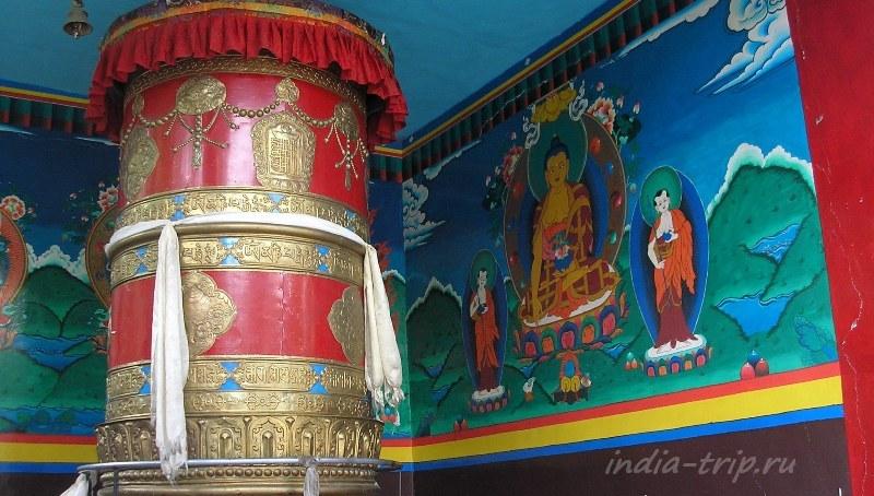 Большой молитвенный барабан