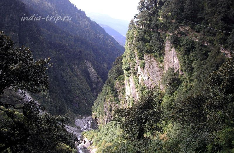Ущелье реки Ямуны