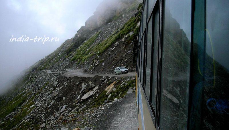 Страшная горная дорога