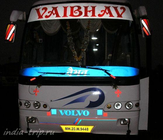 Туристический ночной автобус