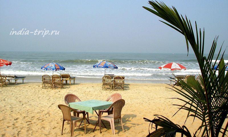 Пляж Бенаулима