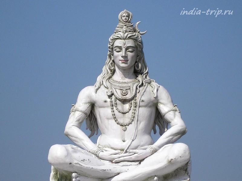Бог Шива с Гангой на голове