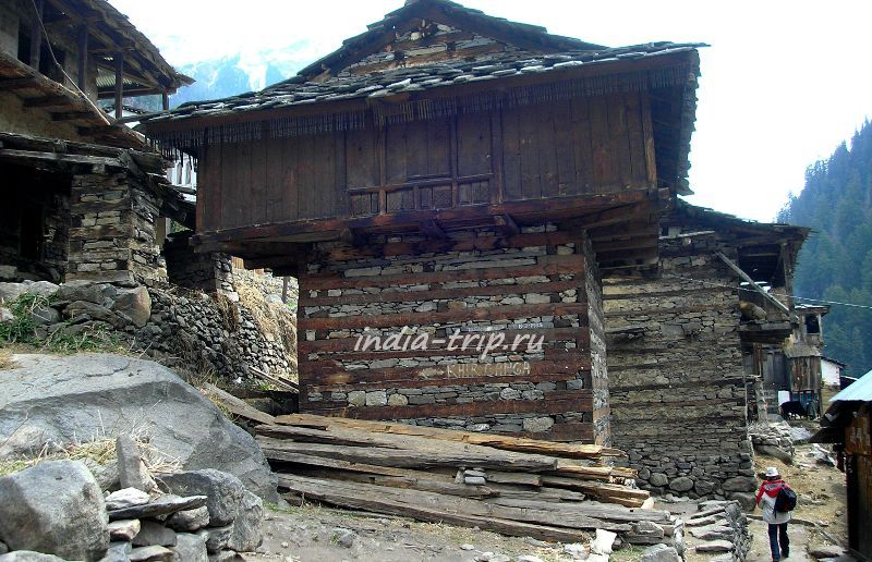 Дома деревни Нактан