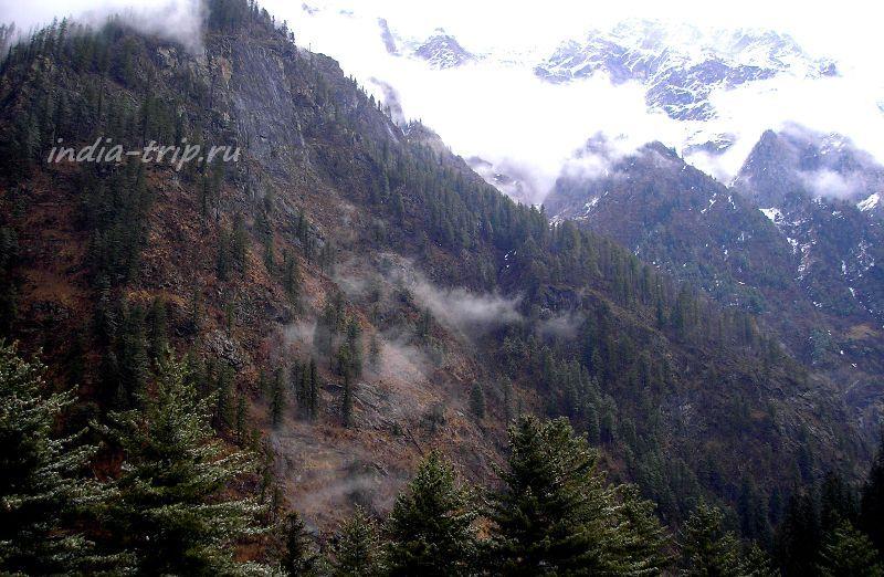 Горы - на подступах к Кирганге