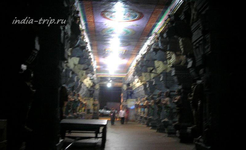 Коридор храма Раманатхасвами (Рамалингешвара)