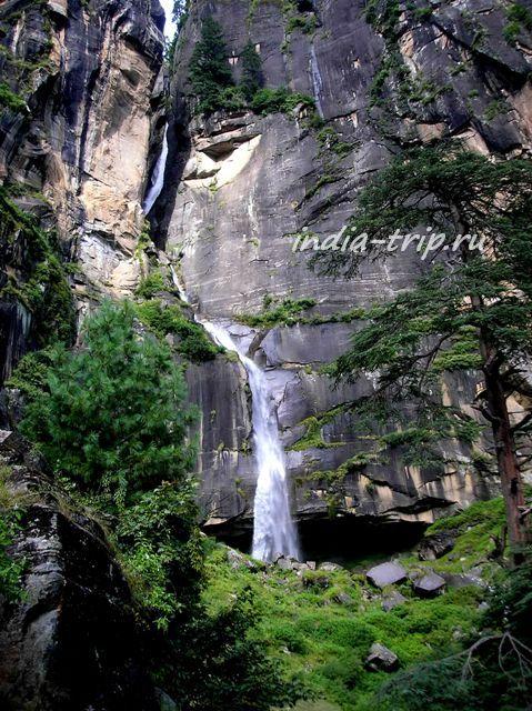 Вашишт. Водопад Йогини. Третья ступень