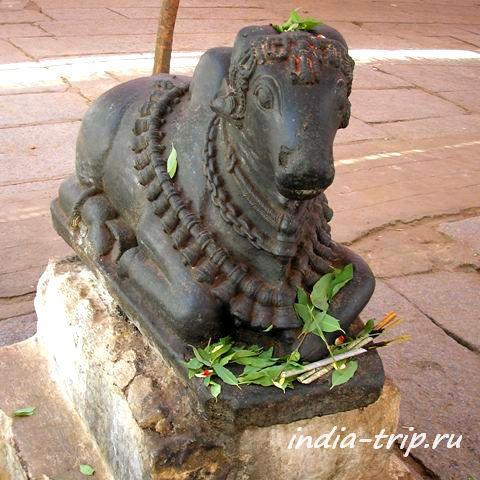 Бык Нанди - вахана Шивы