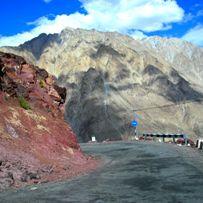 Дорога в долину Нубра