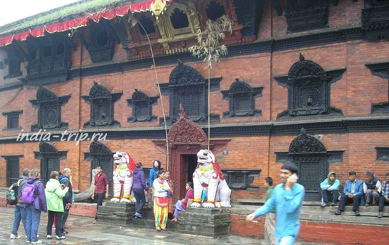 Катманду, дворец