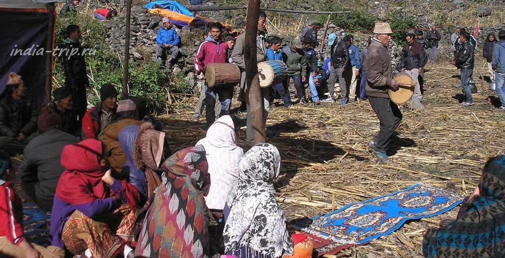 Непал, селение Дарапани