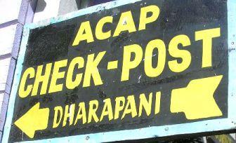 Непал. Чек-пост в Дарапани