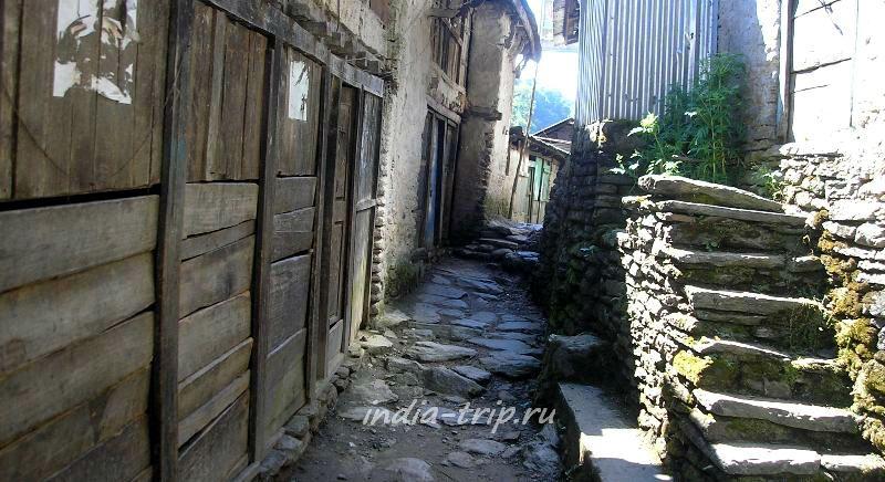 Непал, селение Съянге