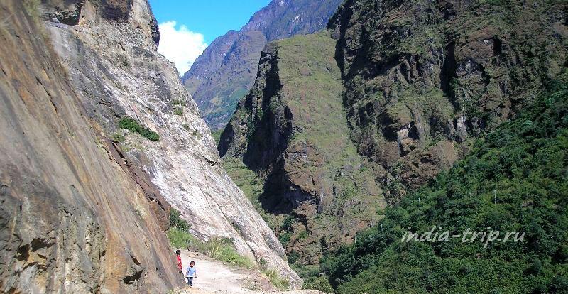 Непал. Дорога