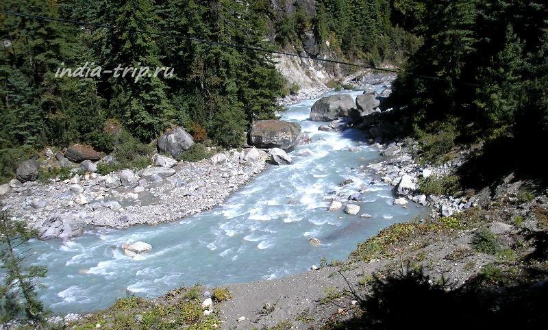Непал. Река Марсъянди