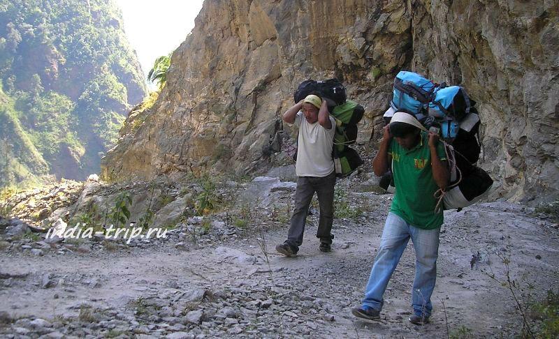 Непал, на треке вокруг Аннапурны