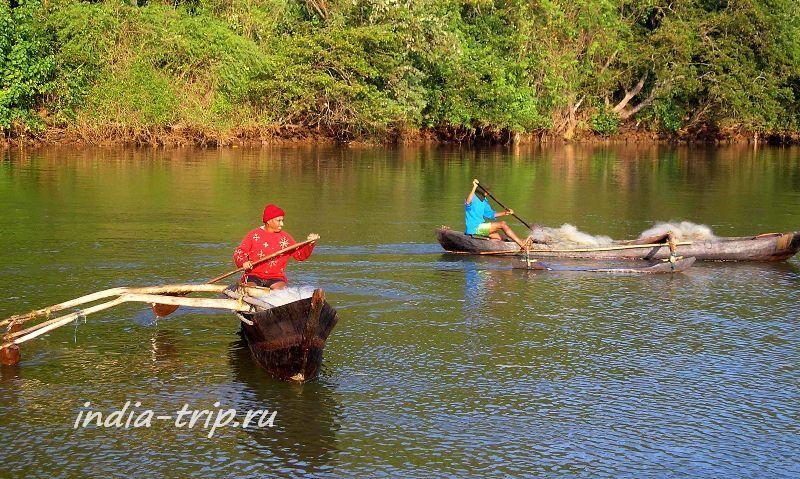 Южный Гоа, Агонда, рыбаки
