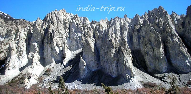 Причудливые горы
