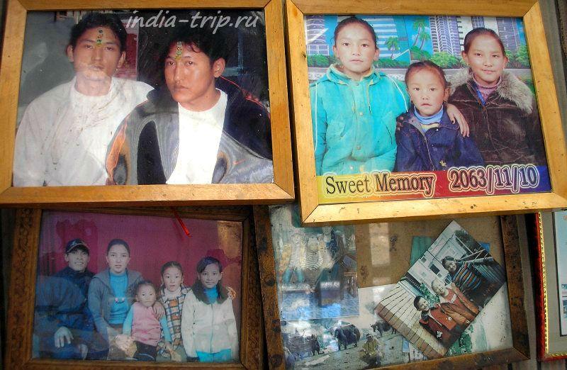 Непальский семейный портрет
