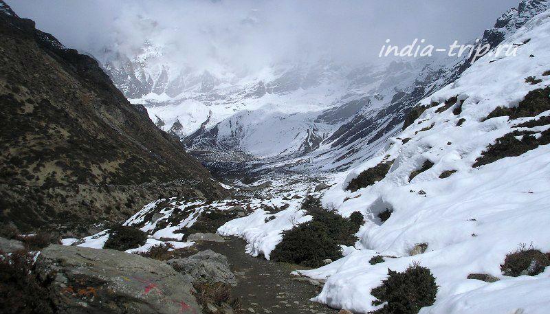 Гималаи. Космические виды