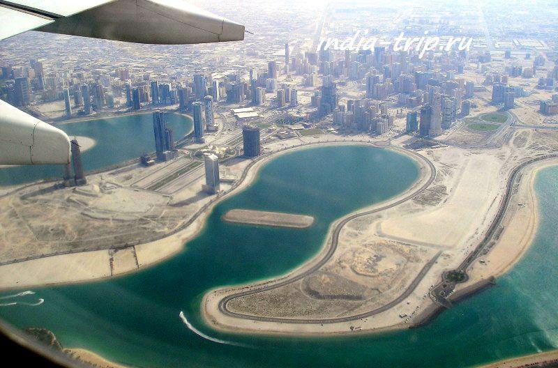Полет над Дубаем
