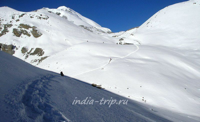 Гималаи, снега
