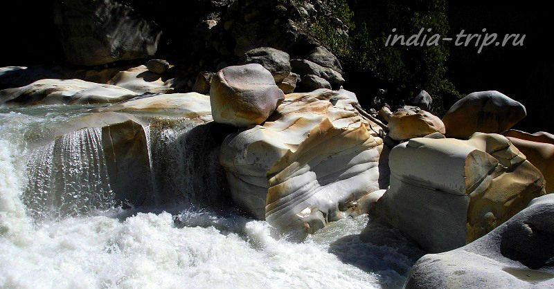 Ганготри: камни и Ганга