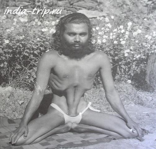 Свами Сундарананд в молодости
