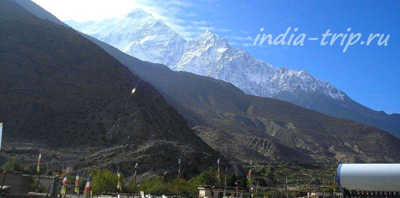 Джомсом, Гималаи