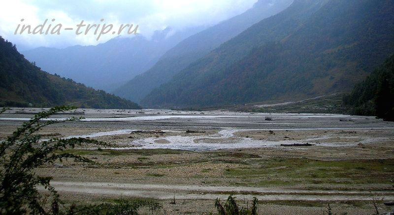Русло реки Кали-Гандаки