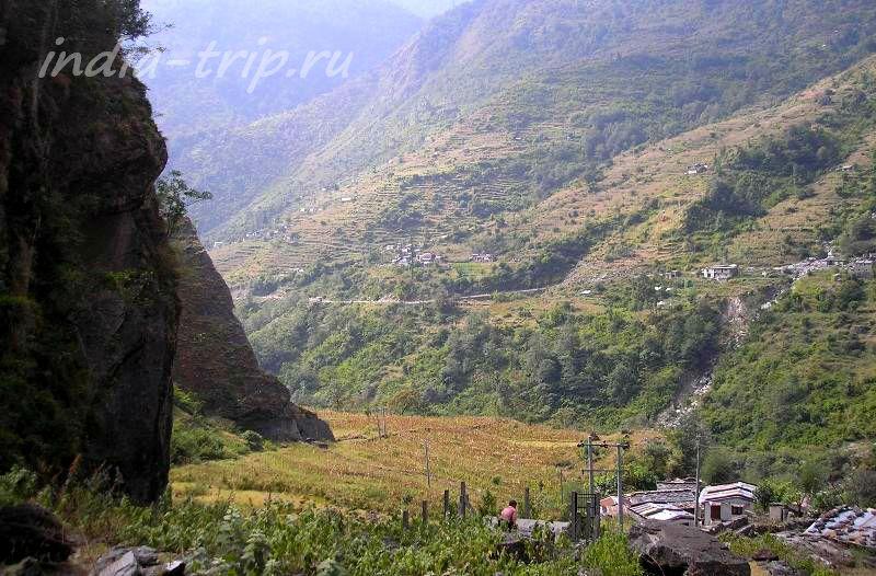 Путь из Гхасы в Татопани