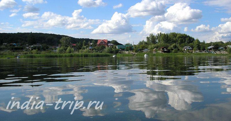 Село на берегу