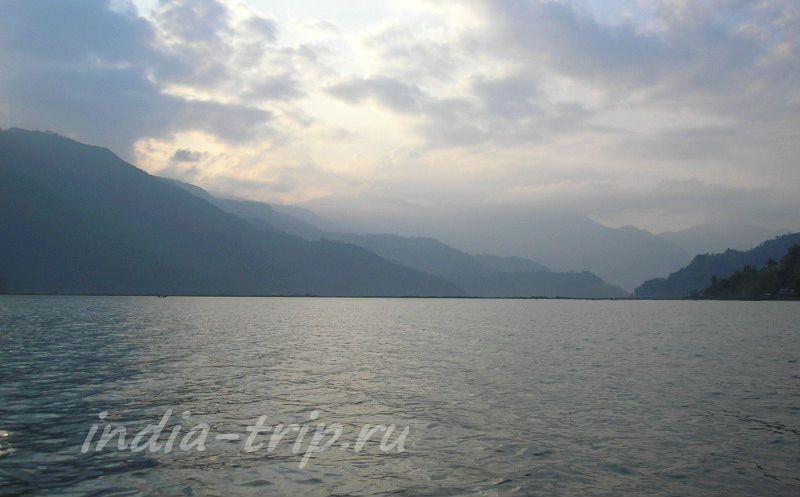 Озеро Фева вечером