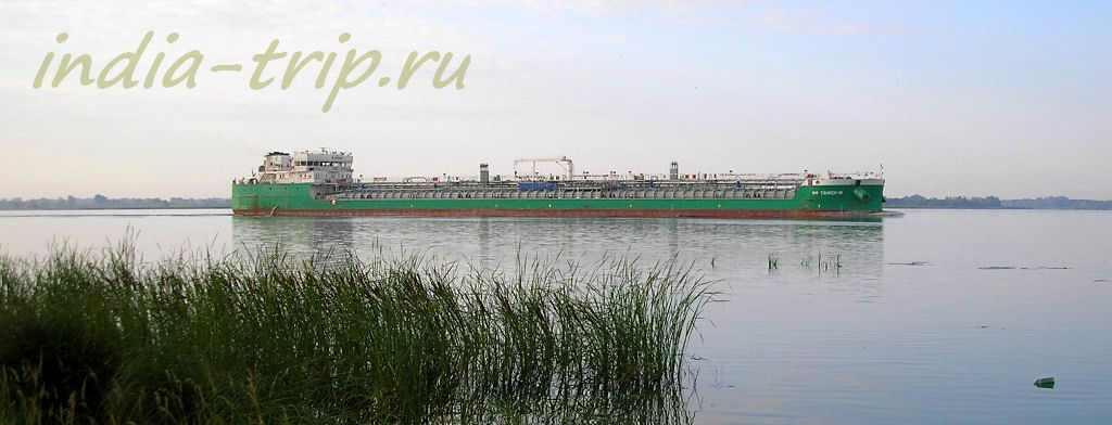 Зеленый танкер