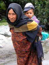Жители Нубры