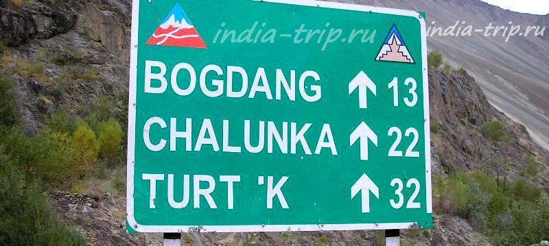 Километраж до Туртука