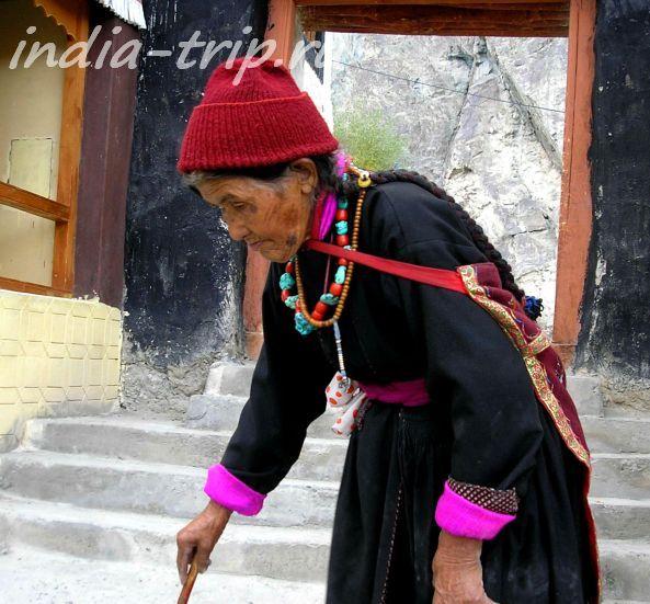 Тибетская бабушка