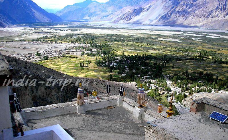 Вид с крыши монастыря