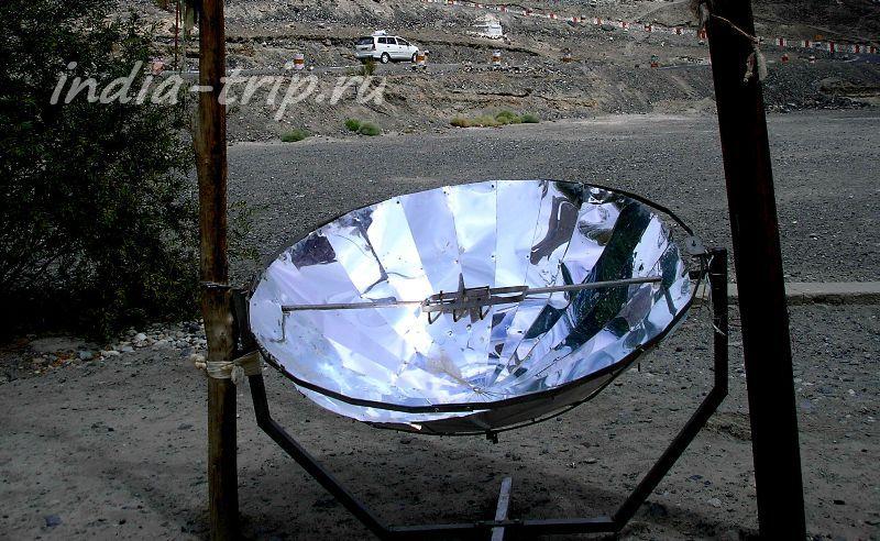 Нагреватель воды на солнечной энергии