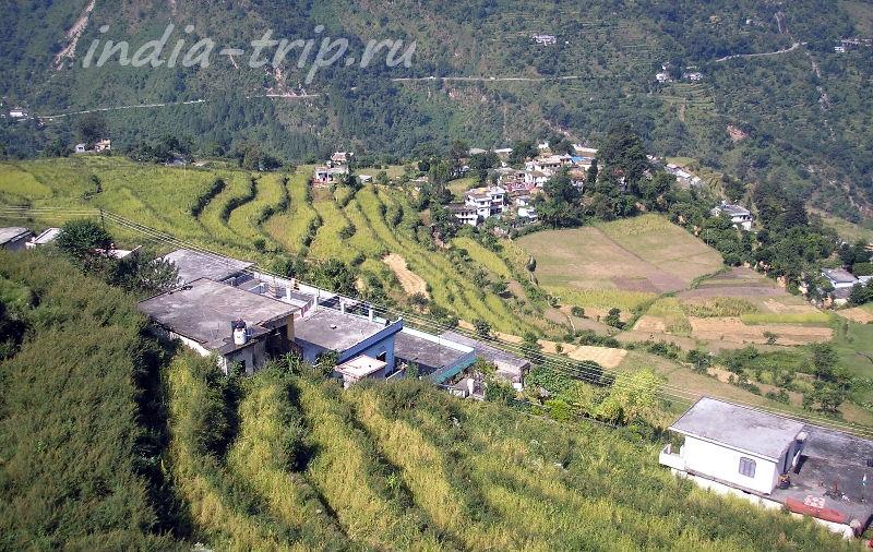 Укиматх, террасное земледелие
