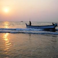 Гокарна, море