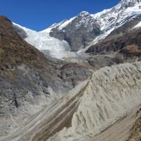 Горы и ледник