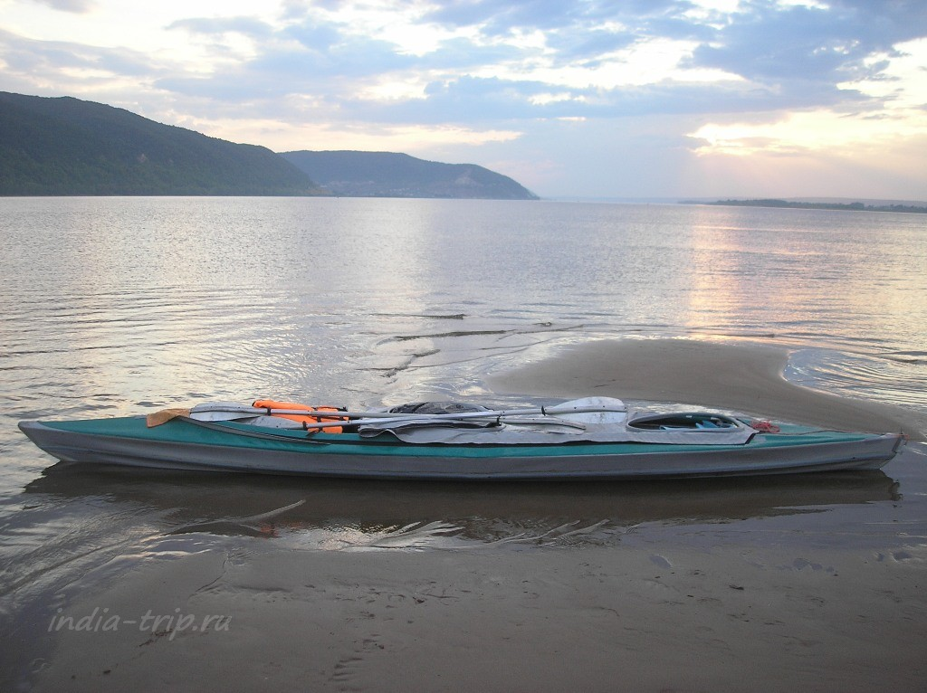 Волга и наша байдарка