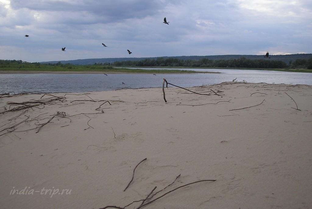 Песок, вода и небо
